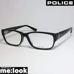 POLICE ポリス メガネ セルフレーム VPL660J-01KR-55 度付可 ブラック|melook