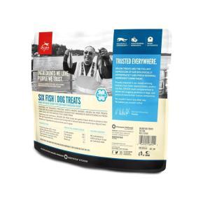 NEW※2個SET オリジン フリーズドライ ドッグ トリーツ シックスフィッシュ 42.5g×2 メール便送料無料・代引き不可|meltinpot|02