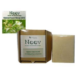 ニーブ ニーム&トゥルシ ソープ NEEV Herbal NEEM TULSI SOAP|meltinpot