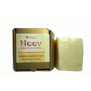 NEEV SOAPSの製造技術がわかる「これぞアーユルヴェーダ!!!」と感じる石鹸です。  ほのかに...