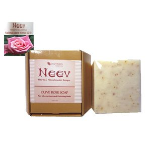 ニーブ OL ローズ ソープ NEEV Herbal OLIVE ROSE SOAP|meltinpot