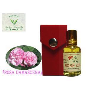 ペコー ティップス ダマスクローズ オイル オット 100%精油(インド産)PEKOE TIPS TEA  ESSENTIAL OIL ROSA DAMASCENA(Damask rose) 12ml|meltinpot