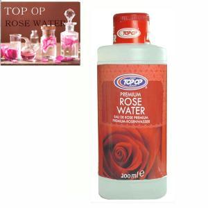 TOP OP ローズウォーター 200ml india rose water 芳香蒸留水 フローラルウォーター フラワーウォーター アロマウォーター 化粧水|meltinpot