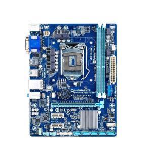 新品 Gigabyte B75M-D2V Intel B75 マザーボードLGA 1155コンピュータ パーツDDR3 PCパーツMicro ATX動作確認済 melville
