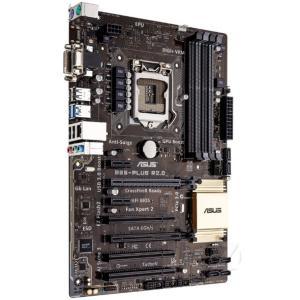 新品 Asus B85-PLUS R2.0 Intel B85マザーボードLGA 1150コンピュータ パーツ4×DDR3 DIMM PCパーツATX MAX:32GB melville