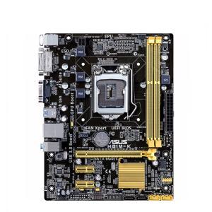 新品 Asus H81M-K Intel H81マザーボードLGA 1150コンピュータ パーツ2×DDR3 DIMM PCパーツMicro ATX動作確認済 melville