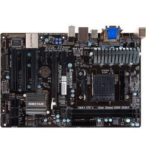 新品 BIOSTAR Hi-Fi A58S2 バイオスター AMD A55マザーボードSocket FM2+ コンピュータ パーツDDR3 PCパーツATX HIFI対応動作確認済 melville