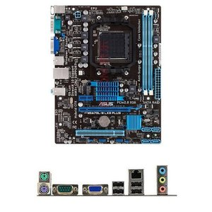 新品 Asus M5A78L-M LX3 PLUS AMD 760GマザーボードSocket AM3+コンピュータ パーツDDR3PCパーツMicro ATX動作確認済 melville