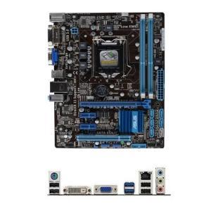 新品 Asus P8B75-M LX PLUS Intel B75マザーボードLGA 1155コンピュータ パーツDDR3PCパーツMicro ATX動作確認済 melville