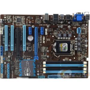 新品 Asus P8B75-V Intel B75マザーボードLGA 1155コンピュータ パーツDDR3PCパーツATX動作確認済