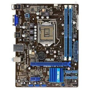 新品 Asus P8H61-M LX3 Intel H61マザーボードLGA 1155コンピュータ パーツDDR3PCパーツuATX動作確認済