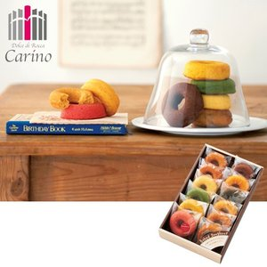 カリーノ カラフル焼ドーナツ詰合せ 12個 内祝い、お祝い、お歳暮、お中元、お誕生日 98037-04|meme