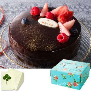 銀座千疋屋 ケーキ ベリーのチョコレートケーキ ギフト 内祝い お祝い 出産 結婚 お誕生日 クリスマス 快気 御礼 お菓子|meme