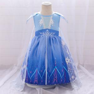 アナと雪の女王2 エルサ 子供用 コスチューム プリンセス ドレス  ベビードレス 結婚式 セレモニ...