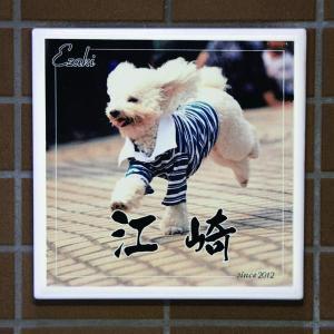ペットの写真を表札に。オリジナル表札の制作 memoa