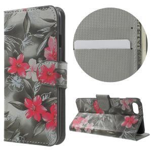iPhone8 ケース iPhone7 ケース D 強化ガラス保護フィルム付き スマホケース アイフォン7 iPhone 8 ケース 手帳 iPhone 8 ケース 財布|memon-leather
