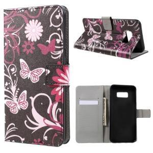 Galaxy S8 Plus レザーケース A 液晶保護フィルム付き ギャラクシーS8 プラス カバー 手帳型スタンド機能 ICカードスロット 札入れ|memon-leather