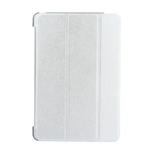 iPad 2017 レザーケース シルバー 液晶保護フィルム付き アイパッド2017 カバー 手帳型スタンド機能|memon-leather