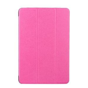 iPad 2017 レザーケース ローズ 液晶保護フィルム付き アイパッド2017 カバー 手帳型スタンド機能|memon-leather
