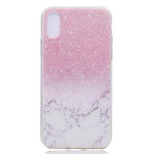 iPhone XS/X ケース ソフトケース C 強化ガラス保護フィルム付き アイフォン X 背面型 超薄軽量|memon-leather