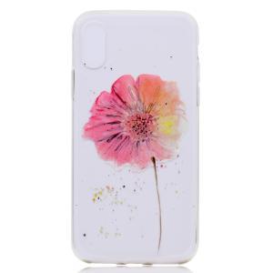iPhone XS/X ケース ソフトケース F 強化ガラス保護フィルム付き アイフォン X 背面型 超薄軽量|memon-leather