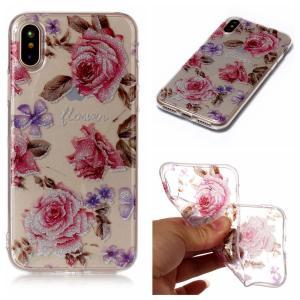 iPhone XS/X ケース ソフトケース G 強化ガラス保護フィルム付き アイフォン X 背面型 超薄軽量|memon-leather