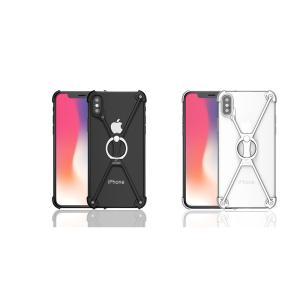 iPhone XS/X ケース iPhone XS/X ハードケース アイフォンX アイフォンテン 背面型 超薄軽量 スタンド機能|memon-leather