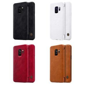 Galaxy S9 ケース Galaxy S9 レザーケース ギャラクシーS9 SC-02K SCV38 カバー 手帳型 ICカードスロット|memon-leather