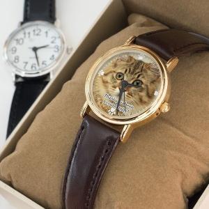 写真で作るオーダーメイド腕時計 ペットメモリアルグッズ 名入れ 敬老の日 プレゼント ギフト
