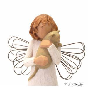 メモリアルオブジェ WithAffection 〜やさしい心のつながり〜 猫 Willow Tree |memoriaareca