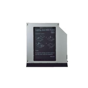 DELL Latitude E6320 E6420 E6520 E6330 E6430 E6430S E6530他 スリムドライブベイ用 SSD・HDDマウンタ SATA接続 9.5mm厚【ゆうメール215円発送可】 memory-depot