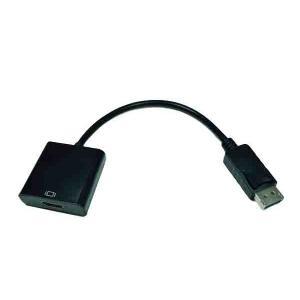 ディスプレイポート・オス - HDMI・メス 変換アダプター Displayport Conversion Adaptor 【相性保証付】【ゆうメール215円発送可】