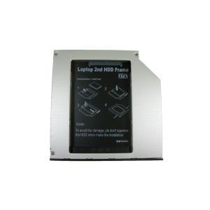 商品説明  [製品の特徴] 使う機会の少ないノートパソコンの光学ドライブを、2.5インチのハードディ...