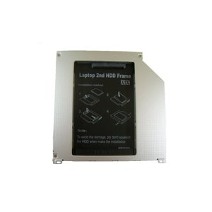 MacBook,MacBookPro専用 光学ドライブベイ用HDD・SSDマウンタ SATA接続 9.5mm厚【ゆうメール215円発送可】 memory-depot
