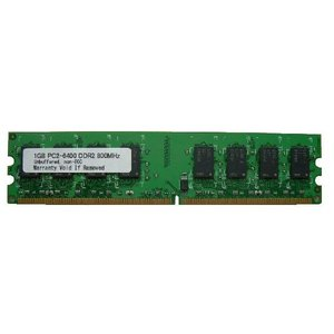 1GB PC2-6400/PC2-5300 DDR2-800/DDR2-667 240pin DIMM PCメモリー 相性保証付【ゆうメール215円発送可】|memory-depot