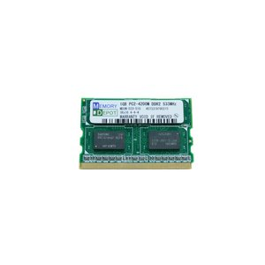 MicroDIMM 1GB PC2-4200 172pin Let's note, Loox 対応 PCメモリー 相性保証付 【ゆうメール215円発送可】