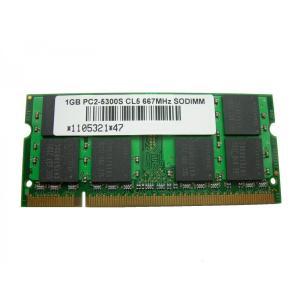 SODIMM 1GB PC2-5300 DDR2-667 16chip品 200pin SO-DIMM PCメモリー 相性保証付【ゆうメール215円発送可】|memory-depot