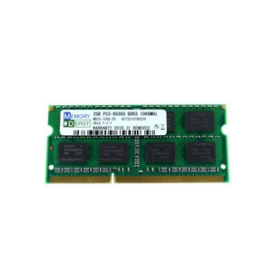 SODIMM 2GB PC3-8500 DDR3-1066 204pin SO-DIMM Macメモリー 相性保証付【ゆうメール215円発送可】