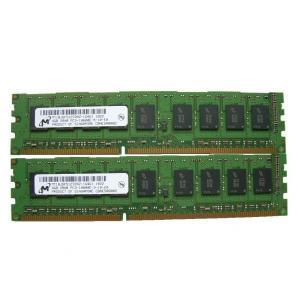 Micron 8GB(4GBx2枚) PC3-10600 DDR3 1333 ECC 240pin DIMM サーバーメモリー|memory-depot
