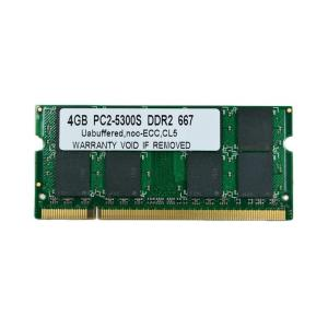 SODIMM 4GB PC2-5300 DDR2 667 200pin SO-DIMM Macメモリー 相性保証付【希少品】【ゆうパケット360円発送可】