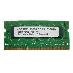 【特価品】 SODIMM 4GB PC3-10600 DDR3-1333 204pin SO-DIMM PCメモリー 【数量限定】【ゆうメール215円発送可】