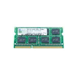 SODIMM 4GB PC3-8500 DDR3-1066 204pin SO-DIMM PCメモリー 相性保証付【ゆうメール215円発送可】|memory-depot