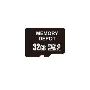 10 超MicroSDHCカード 32GB Class高速 SDHCアダプター 専用ケース付【ゆうメール215円発送可】|memory-depot