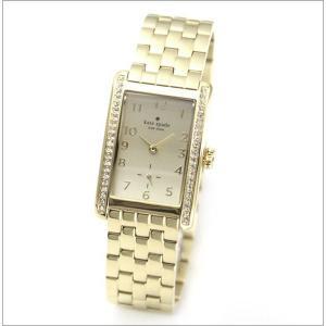 ケイトスペード 腕時計 レディース クォーツ クーパー ゴールド ラインストーンベゼル 1YRU0118|memozo