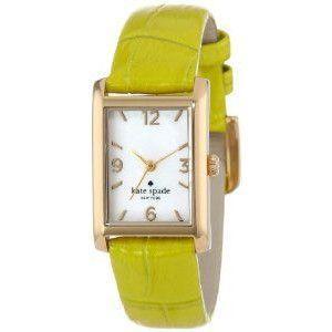 ケイトスペード 腕時計 レディース クォーツ クーパー ストラップ ゴールド×シトロン 1YRU0287|memozo