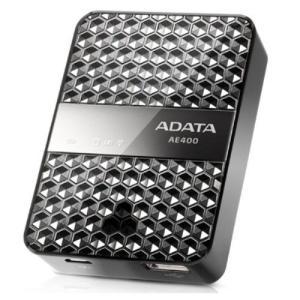送料無料 A-DATA ワイヤレスストレージリーダー 5000mAh内蔵 DashDrive Air AE400 エーデータ AAE400-CBKSV