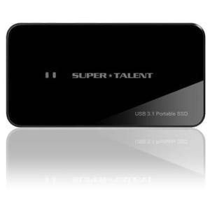 ポータブルSSD 960GB スーパータレント RAIDDrive TYPE-C USB3.1 FUW960UCU0 パッケージ品|memozo