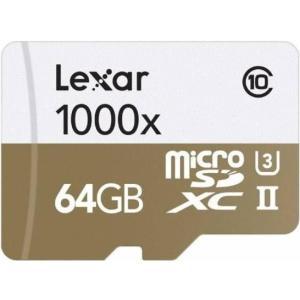 マイクロSD 64GB レキサー PROFESSIONAL microSDXC UHS-II 1000X LSDMI64GCBNL1000R 海外パッケージ品|memozo|02