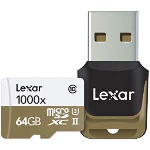 マイクロSD 64GB レキサー PROFESSIONAL microSDXC UHS-II 1000X LSDMI64GCBNL1000R 海外パッケージ品|memozo|03