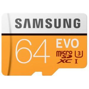 マイクロSD 64GB サムスン EVO microSDXC MB-MP64GA 海外パッケージ品|memozo